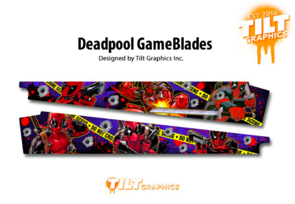 Deadpool Pinball Machine Game Blades