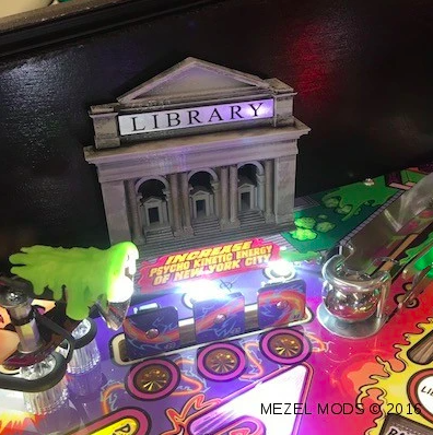 Ghostbusters Pro Pinball Machine Library Mod