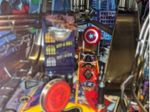 Avengers Infinity Quest Pinball Captain America Shield