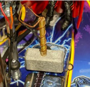 Avengers Infinity Quest Pinball Machine Thor Hammer Mod