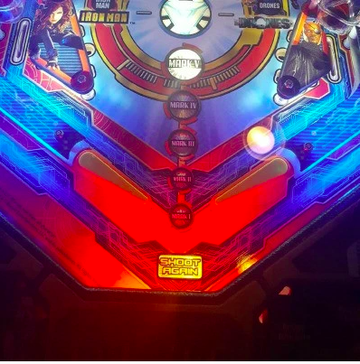 Pinball Trough Light Kit Red