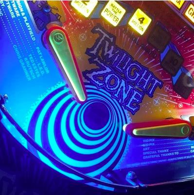Pinball Trough Light Kit Blue