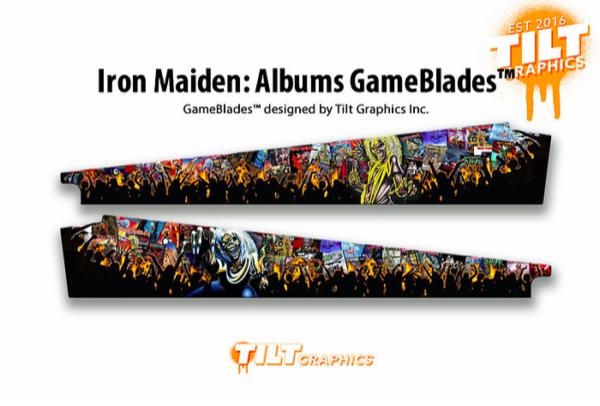 Iron Maiden Pinball Album Art Blades
