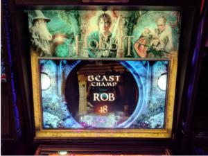 The Hobbit Pinball Backglass Upgrade Kit