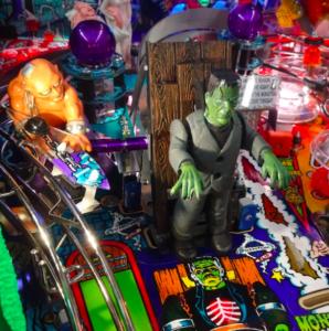Monster Bash Pinball Franks Table Mod