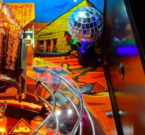 Monster Bash Pinball Disco Ball Mod