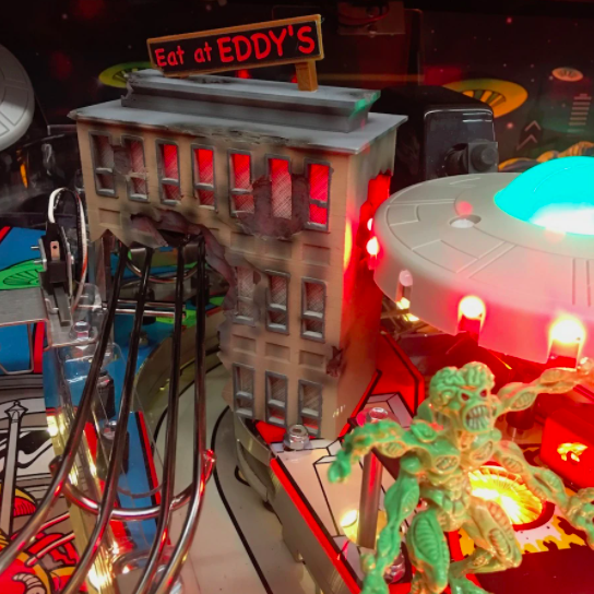 Attack From Mars Eat At Eddys Pinball Mod