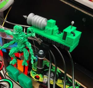Attack From Mars Pinball Atomic Blaster Mod