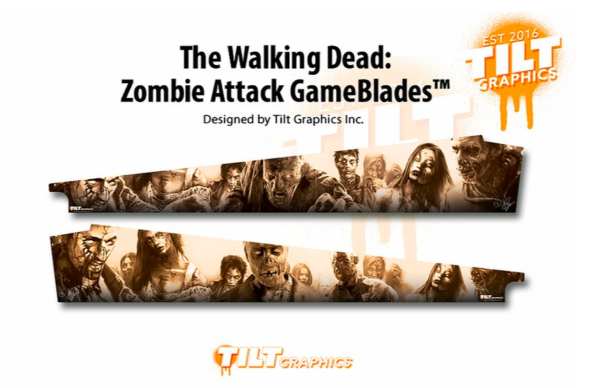 Walking Dead Zombie Attack Pinball Gameblades