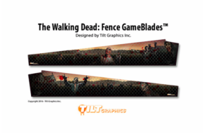 Walking Dead Fence Pinball Gameblades