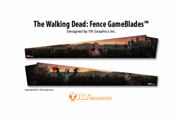 Walking Dead Fence Pinball Gameblades