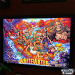 White Water Alternate Pinball Translite Artwork created by Brian Allen, officially licensed from Williams