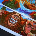 Pinball and Arcade artwork by freelance Artist Brian Allen