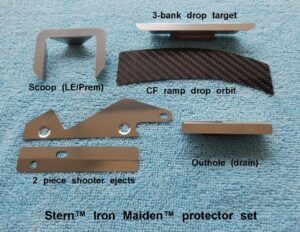 Iron Maiden Pinball Protector Set Cliffy