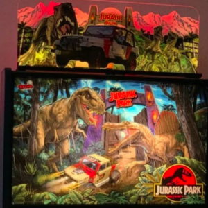 Jurassic Park Topper Lasserrific