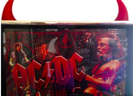 AC/DC PINBALL HORN TOPPER