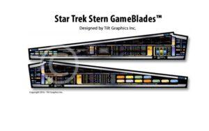 Star Trek Stern Pinball Machine Game Blades