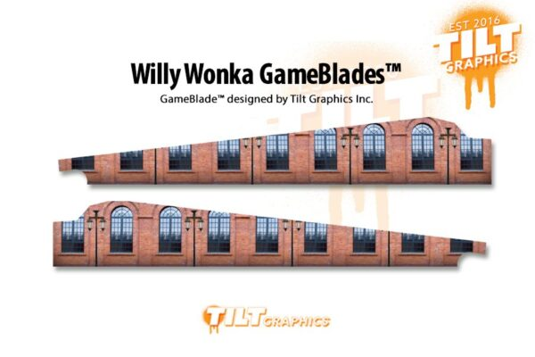 Willy Wonka Pinball Factory GameBlades