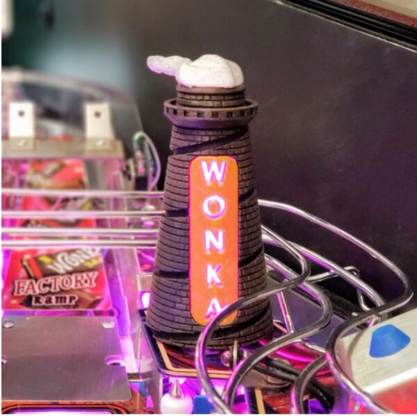 Wonka Pinball Smoke Stack