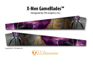 X Men Pinball Machine Game Blades