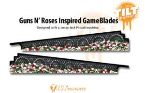 Guns N' Roses Skull Gameblades