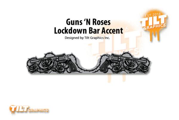 JJP Guns N' Roses Button Accent