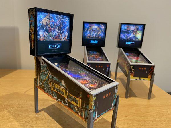 Tales of the Arabian Nights Mini Pinball Machine