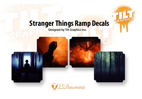 Stranger Things Decal Bundle